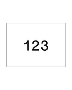 Startnummers Eigen Ontwerp, 210 x 150 mm
